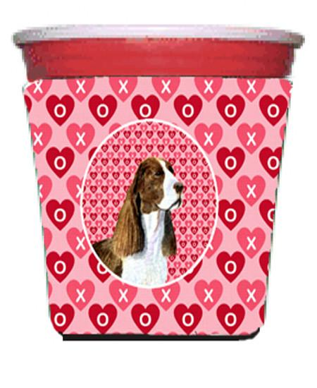 Buy this Springer Spaniel  Red Solo Cup Beverage Insulator Hugger