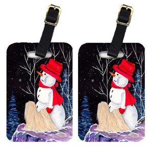 Buy this Pair of 2 Lhasa Apso Luggage Tags
