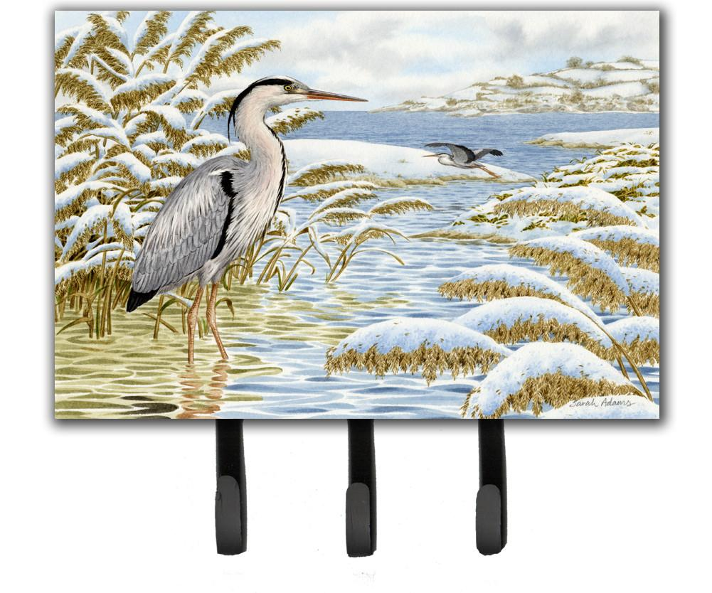 Buy this Blue Heron by the Water Leash or Key Holder ASA2191TH68