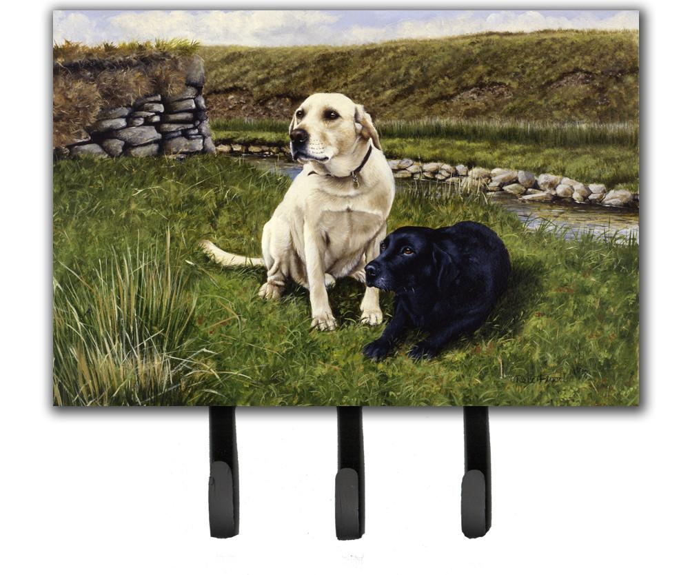 Buy this Yellow and Black Labradors Leash or Key Holder FRF0018TH68