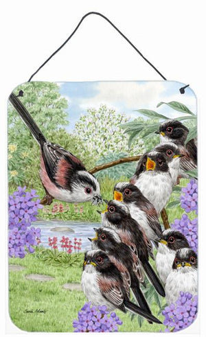 Buy this Long Tailed Tits Wall or Door Hanging Prints ASA2102DS1216