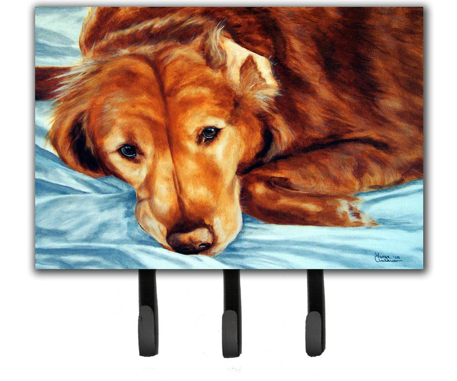 Buy this Golden Retriever by Tanya and Craig Amberson Leash or Key Holder AMB1040TH68