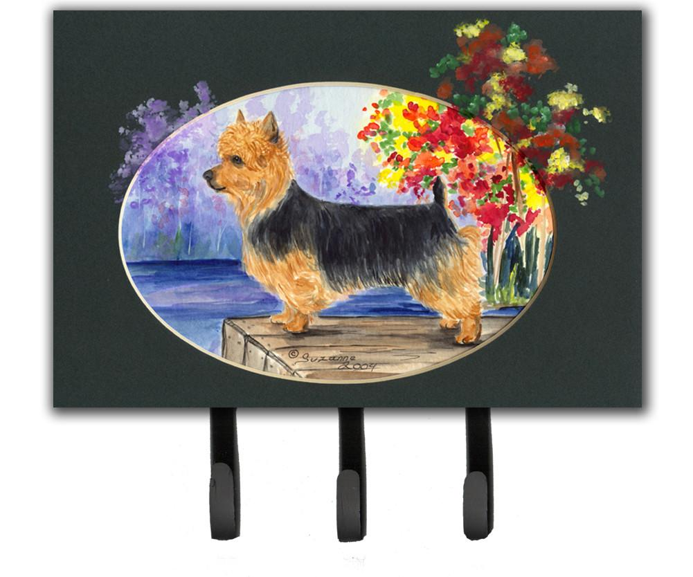 Australian Terrier Leash Holder or Key Hook by Caroline's Treasures