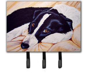Buy this Naptime Border Collie Leash or Key Holder AMB1080TH68