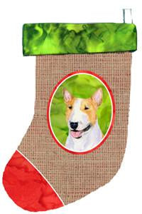 Buy this Bull Terrier Christmas Stocking SS2045