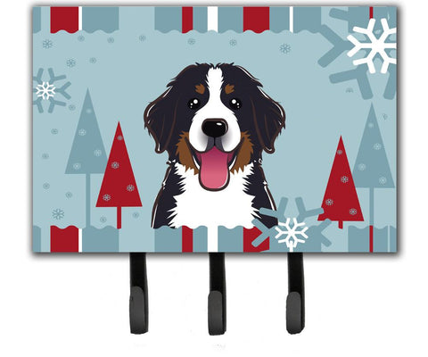 Buy this Winter Holiday Bernese Mountain Dog Leash or Key Holder BB1733TH68