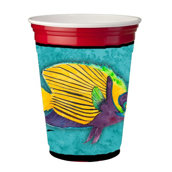 Buy this Tropical Fish Red Solo Cup Beverage Insulator Hugger