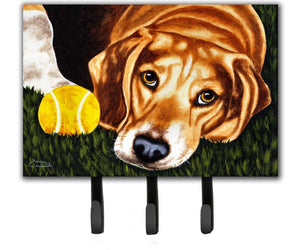 Buy this Have Ball Will Travel Beagle Leash or Key Holder AMB1358TH68