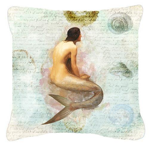 Buy this Mermaids and Mermen    Canvas Fabric Decorative Pillow