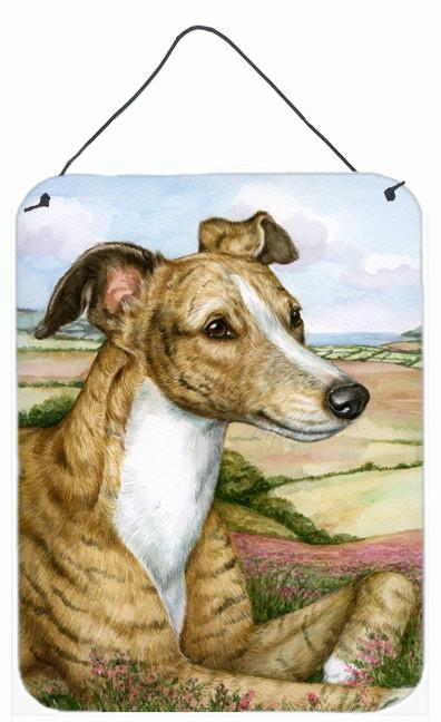 Lurcher by Debbie Cook Wall or Door Hanging Prints CDCO0385DS1216 by Caroline's Treasures