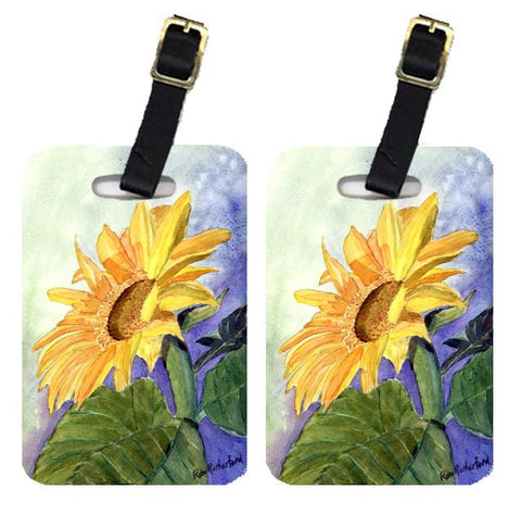 Buy this Pair of 2 Flower - Sunflower Luggage Tags
