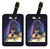 Buy this Starry Night Tibetan Mastiff Luggage Tags Pair of 2