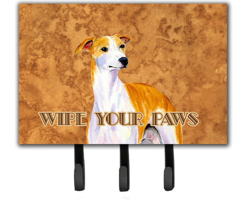 Buy this Whippet Wipe your Paws Leash or Key Holder