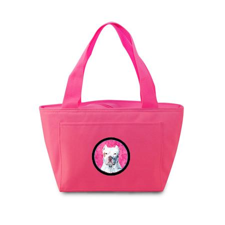 Buy this Pink Pit Bull Lunch Bag or Doggie Bag SC9130PK