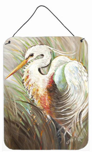 Buy this White Egret Wall or Door Hanging Prints JMK1140DS1216