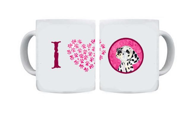 Dalmatian  Dishwasher Safe Microwavable Ceramic Coffee Mug 15 ounce SS4768 by Caroline's Treasures