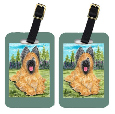 Buy this Pair of 2 Briard Luggage Tags