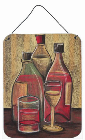 Buy this Bottles and Glasses Wine Wall or Door Hanging Prints BTBU0169DS1216