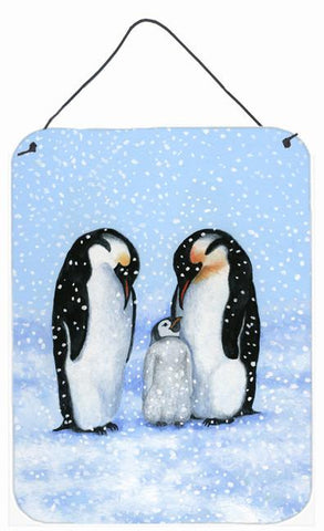 Buy this Penguin Family by Daphne Baxter Wall or Door Hanging Prints BDBA0427DS1216