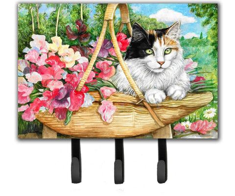 Buy this Cat In Basket Leash or Key Holder CDCO0178TH68