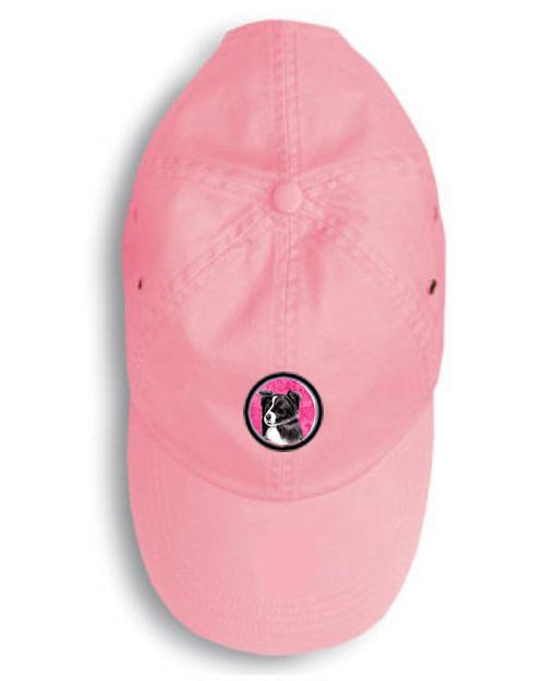 Border Collie Baseball Cap SC9138PK by Caroline's Treasures
