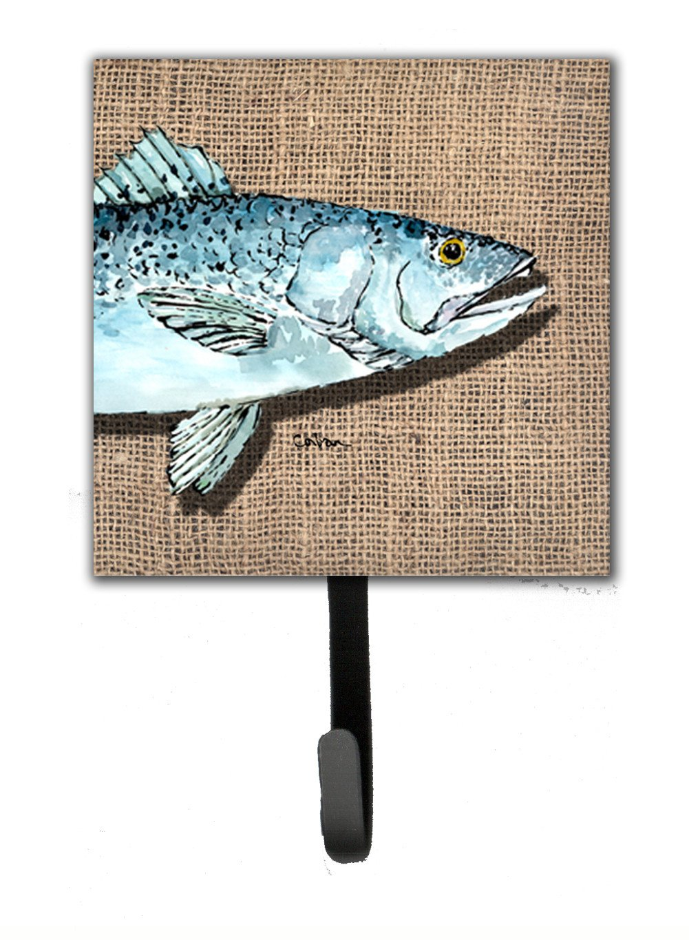 Buy this Speckled Trout Leash Holder or Key Hook
