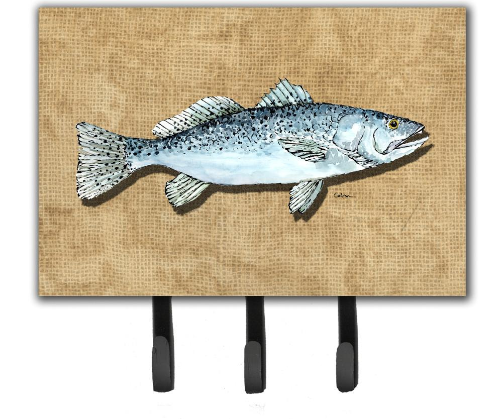 Speckled Trout Leash or Key Holder by C