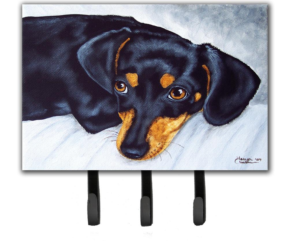 Buy this Black and Tan Doxie Dachshund Leash or Key Holder AMB1079TH68