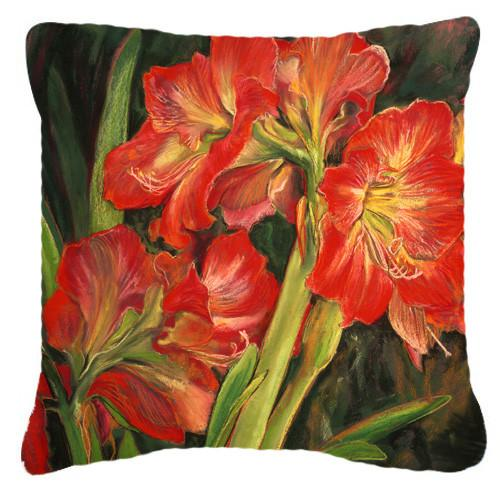 Buy this Amaryllis by Neil Drury Canvas Decorative Pillow DND0091PW1414