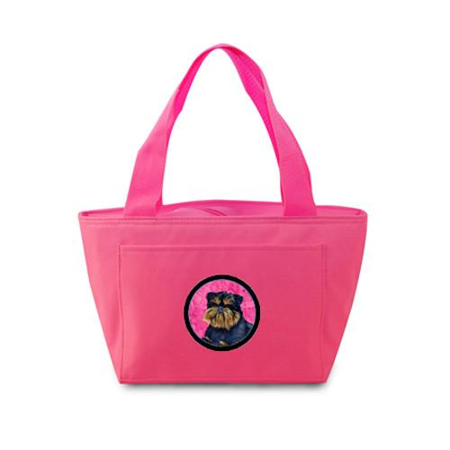 Pink Brussels Griffon  Lunch Bag or Doggie Bag LH9388PK by Caroline's Treasures
