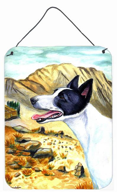Buy this Canaan Dog Aluminium Metal Wall or Door Hanging Prints