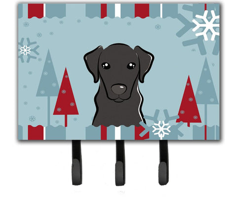 Buy this Winter Holiday Black Labrador Leash or Key Holder BB1731TH68