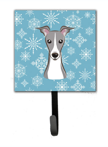 Buy this Snowflake Italian Greyhound Leash or Key Holder BB1670SH4