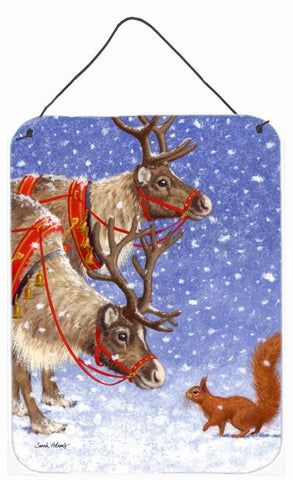 Buy this Reindeers & Squirrel Wall or Door Hanging Prints ASA2016DS1216