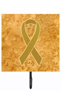 Buy this Gold Ribbon for Childhood Cancers Awareness Leash or Key Holder AN1209SH4