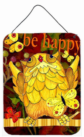 Buy this Happy Happy Day Owl Wall or Door Hanging Prints PJC1034DS1216