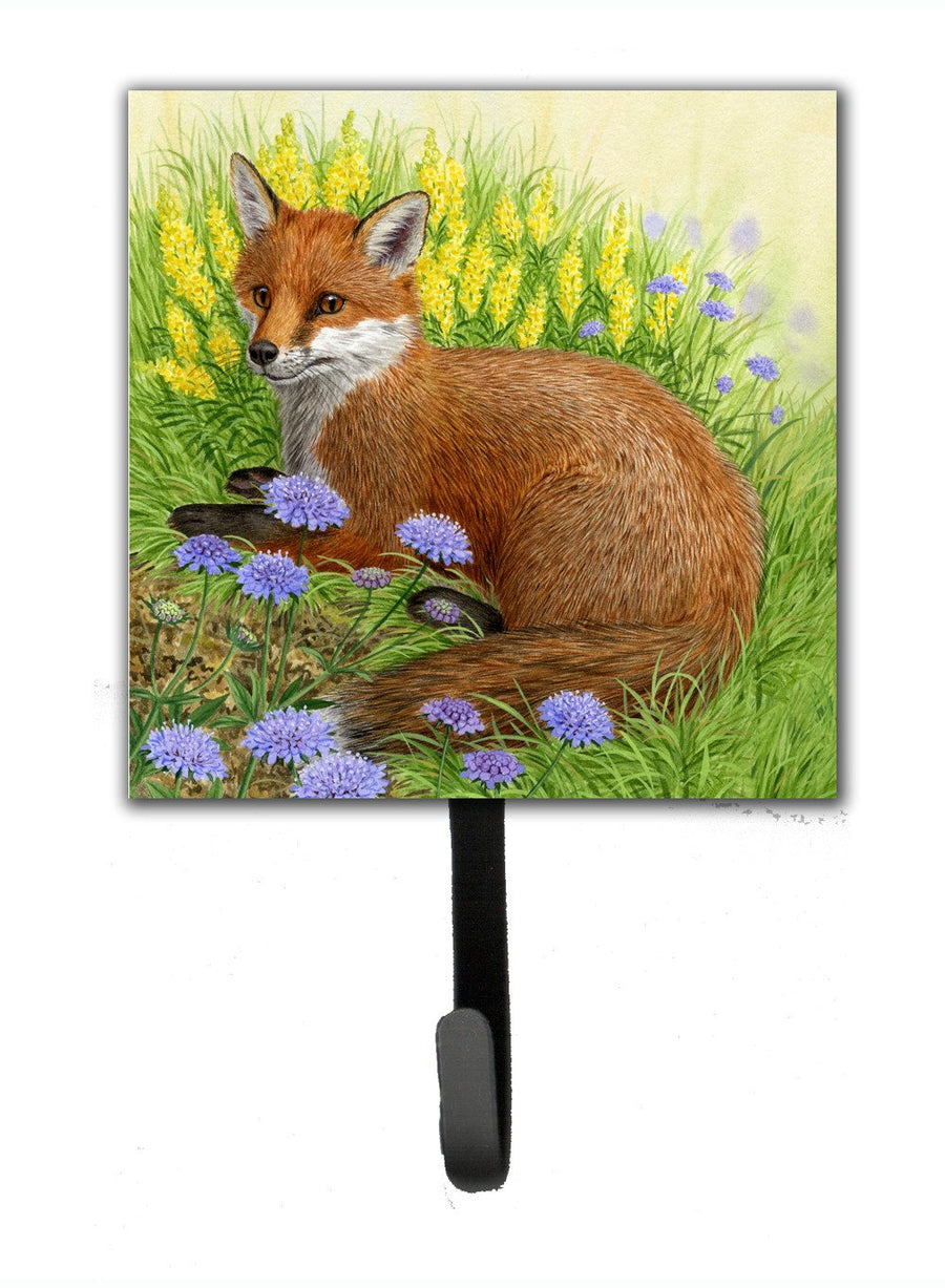 Buy this Fox in Flowers by Sarah Adams Leash or Key Holder ASAD0788SH4