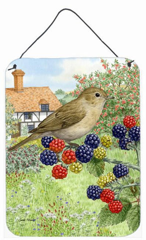 Buy this Garden Warbler Wall or Door Hanging Prints ASA2096DS1216