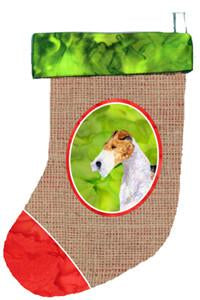 Buy this Fox Terrier Christmas Stocking SS2048