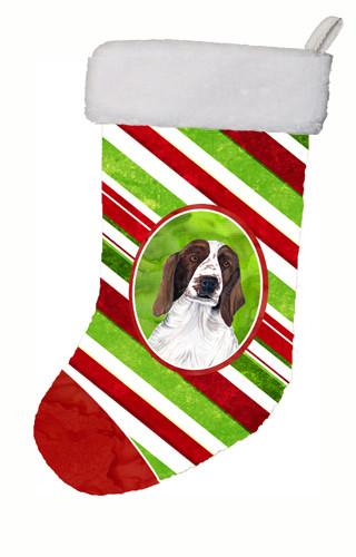 Buy this Welsh Springer Spaniel Candy Cane Holiday Christmas  Christmas Stocking SC9340