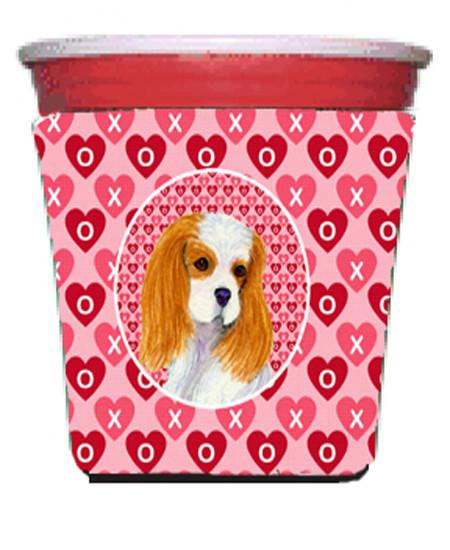 Buy this Cavalier Spaniel  Red Solo Cup Beverage Insulator Hugger