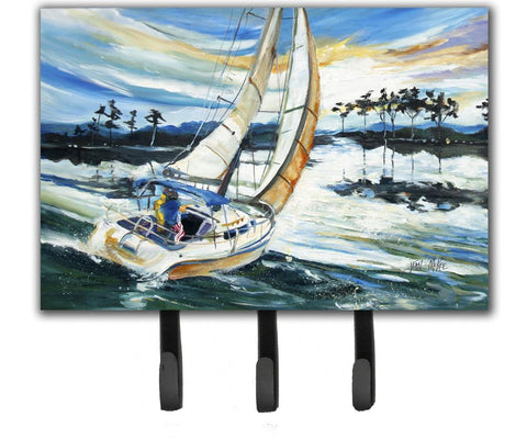 Buy this Sailboats on Lake Martin Leash or Key Holder JMK1055TH68