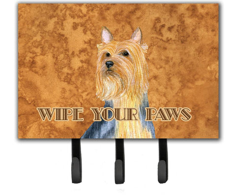 Buy this Silky Terrier Wipe your Paws Leash or Key Holder