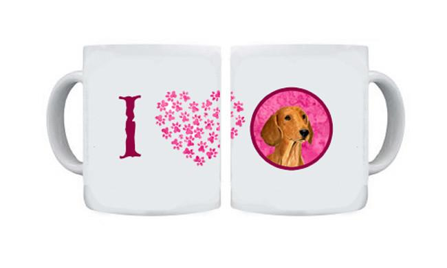 Dachshund  Dishwasher Safe Microwavable Ceramic Coffee Mug 15 ounce SS4763 by Caroline's Treasures