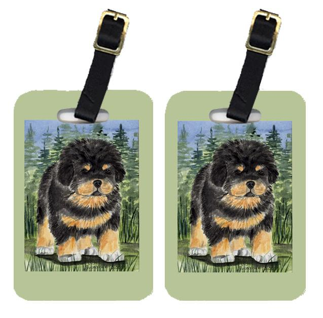 Buy this Pair of 2 Tibetan Mastiff Luggage Tags