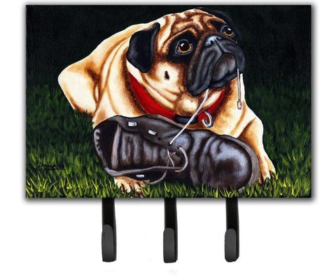 Buy this Cluster Buster the Pug Leash or Key Holder AMB1382TH68