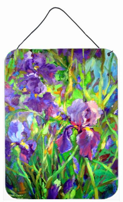 Iris by the Well Wall or Door Hanging Prints PJC1045DS1216 by Caroline's Treasures