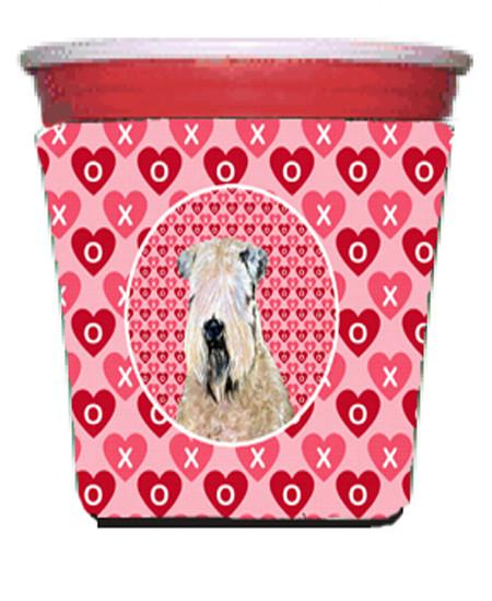 Buy this Wheaten Terrier Soft Coated  Red Solo Cup Beverage Insulator Hugger
