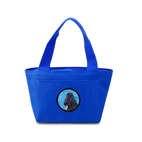 Buy this Blue Briard  Lunch Bag or Doggie Bag SS4765-BU