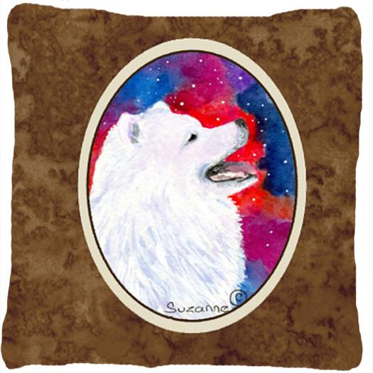 Buy this Samoyed Decorative   Canvas Fabric Pillow